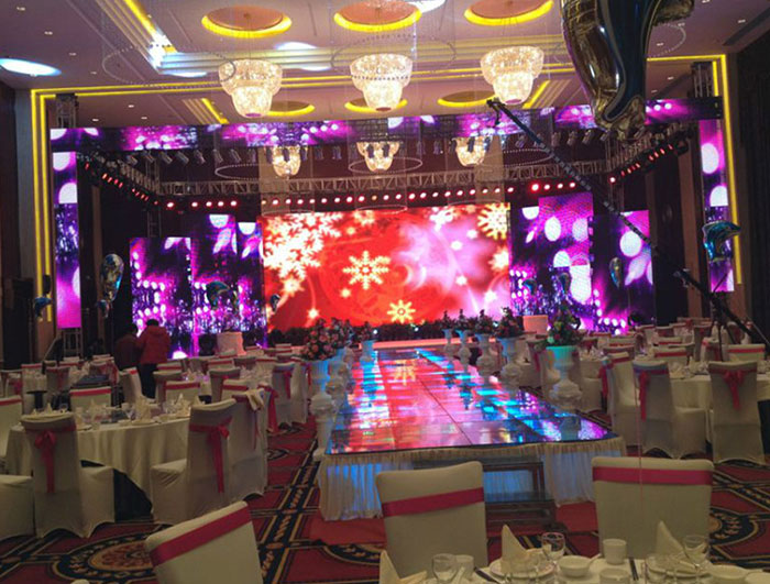 P3.91 indoor rental led display screen