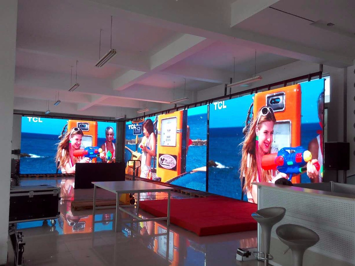 P3 indoor rental led display