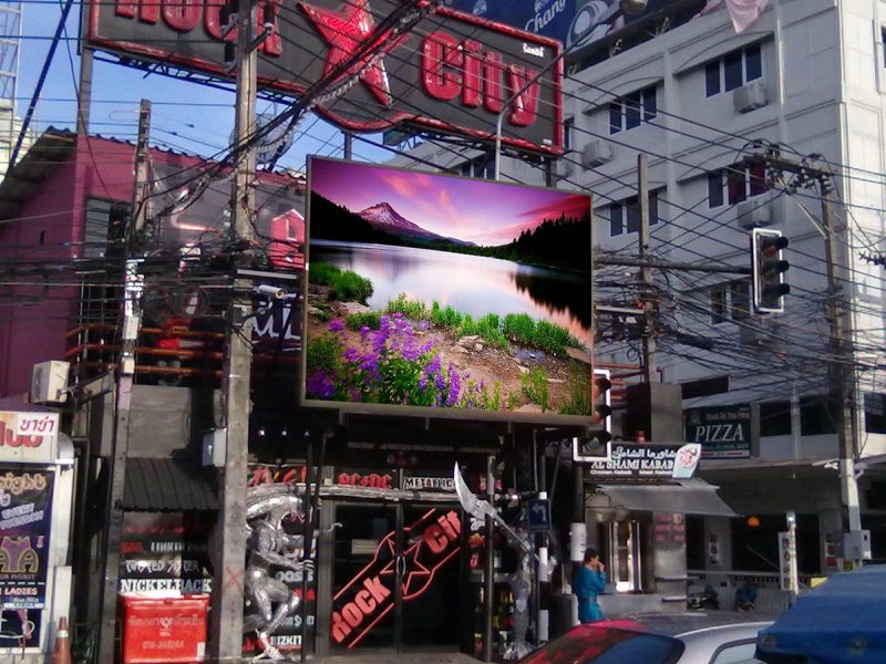 LED Display Advertising & General Poster Advertising