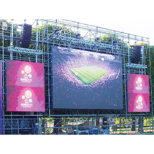 Front Access waterproof outdoor full color rgb video led display/ p8 advertising Sign