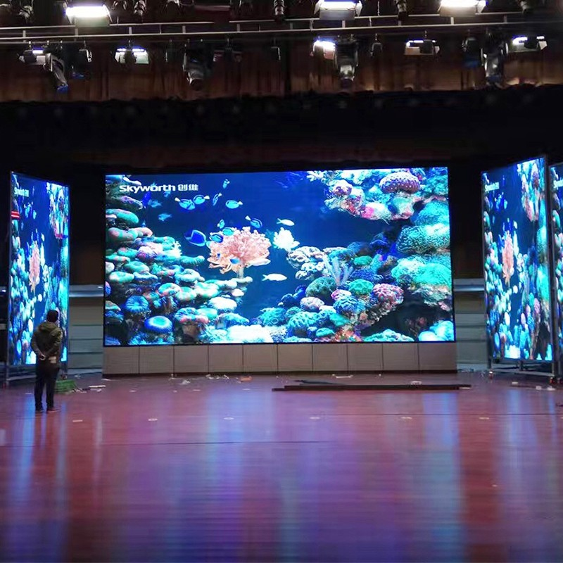 Rental full color indoor P2 P2.5 P3 LED display screen for advertising