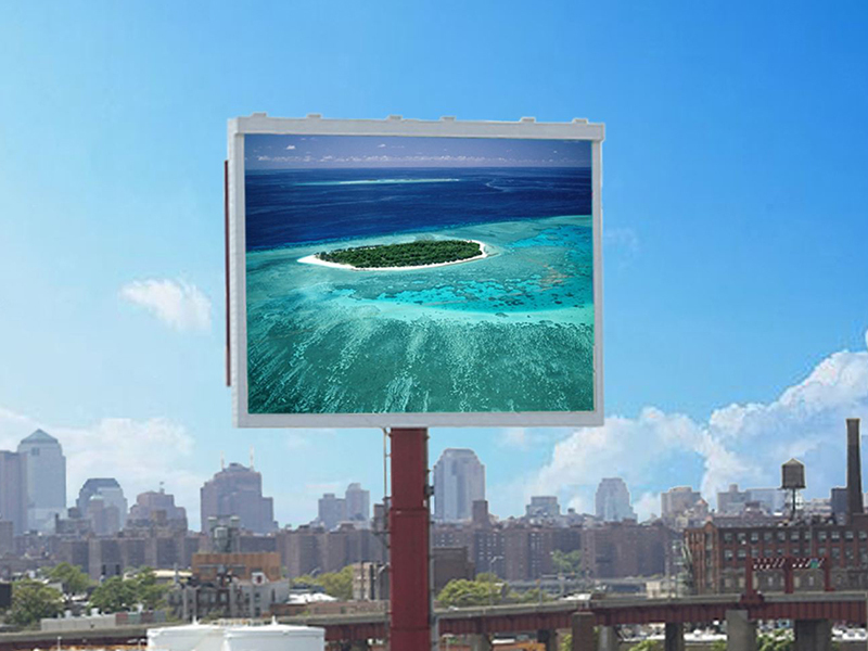 HCMLED P10 fullcolor led board display outdoor led screen display