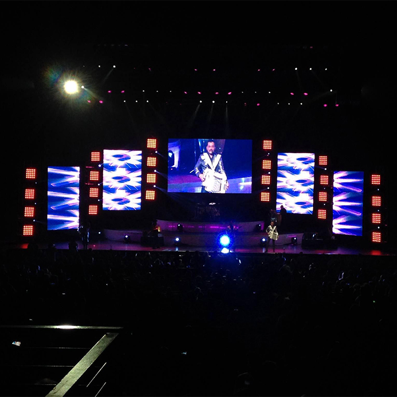 P8 Outdoor Rental Event Use Stage Background Led Display/LED