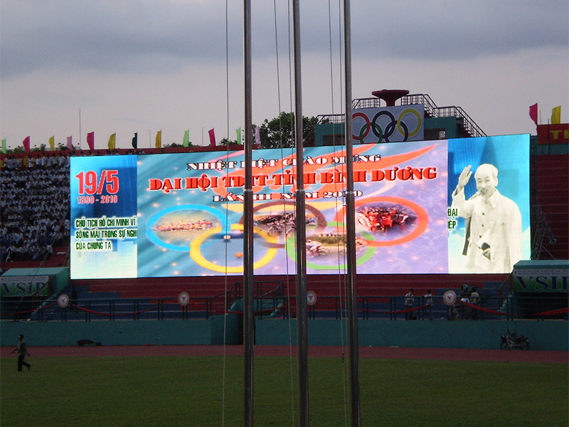 LED Sign P8 Outdoor Stadium Advertising Screen Led Display